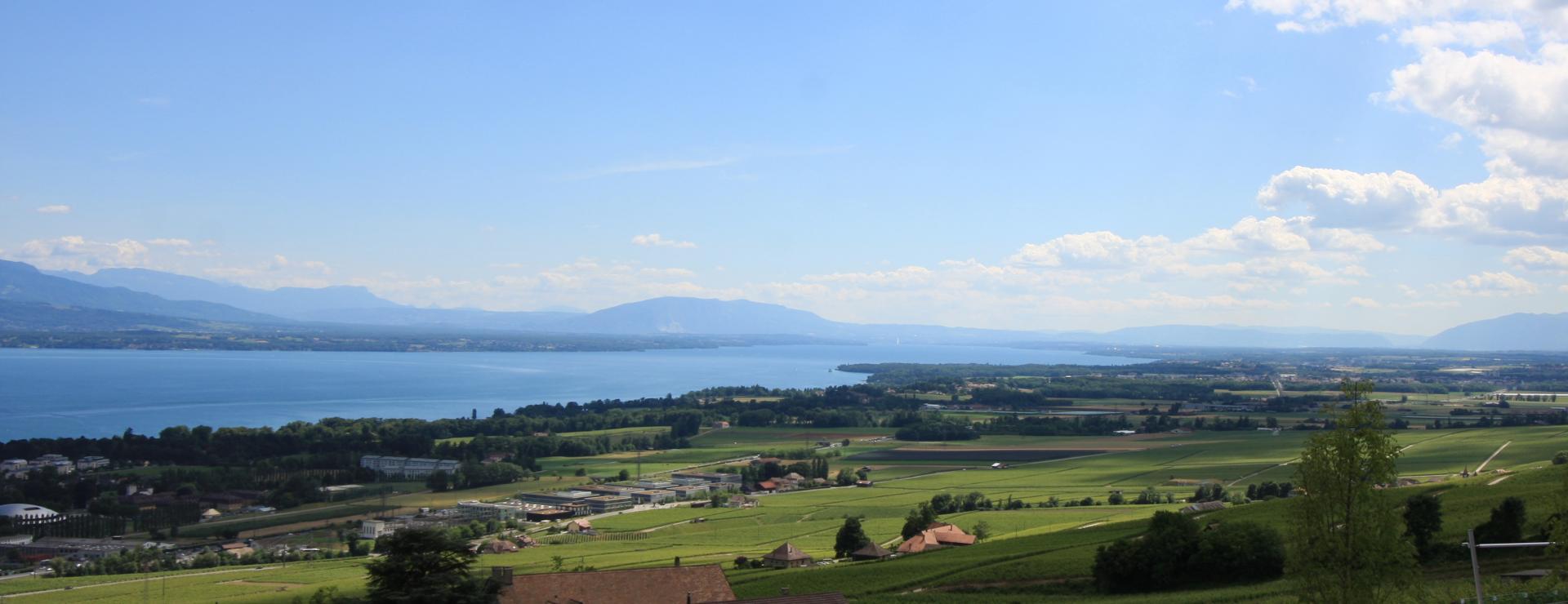 Panorama côté Genève