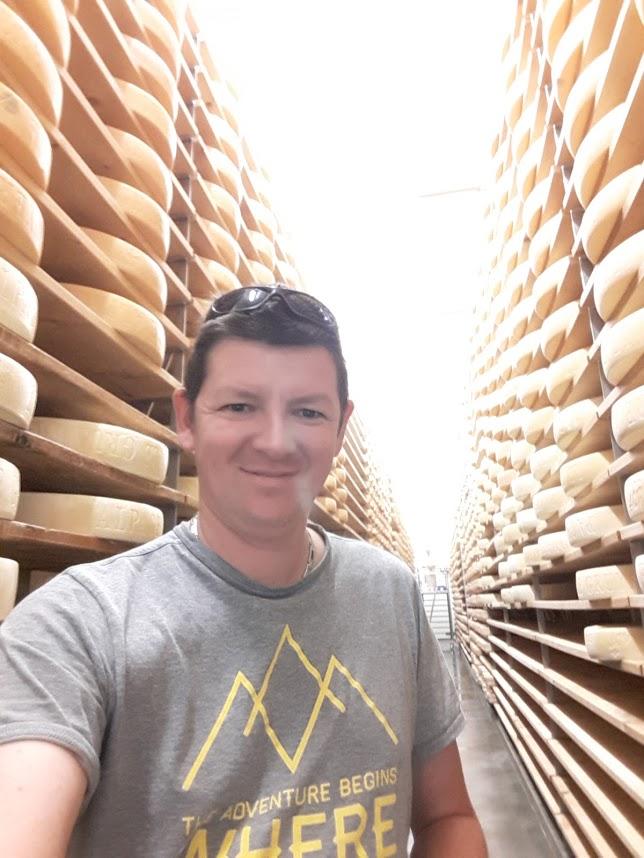 En visite chez notre fromager d'alpage